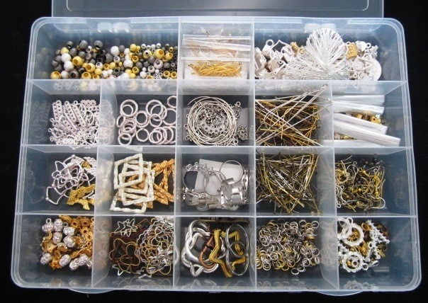 Kits de materiales para joyeria y bisuteria en super for Materiales para bisuteria
