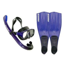 Kits De Mergulho Seasub Completo Promoção