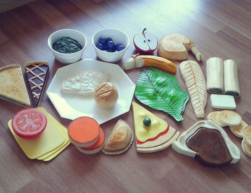 25c870fded8 Kits De Réplicas De Alimentos Para Nutricionistas -   2.100