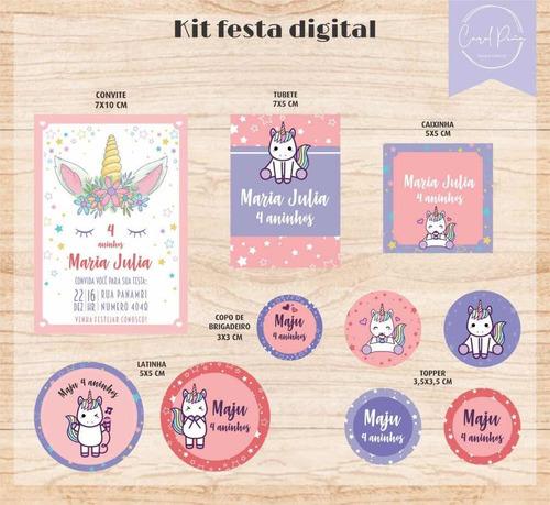 kits digital unicórnio