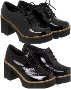 a50126b32 Sapato Oxford Feminino Salto - Sapatos com o Melhores Preços no Mercado  Livre Brasil