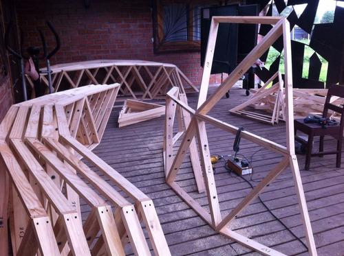 kits domo geodesico