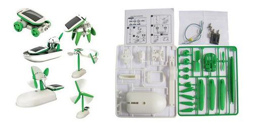 kits educativos de robots solares 6 en 1