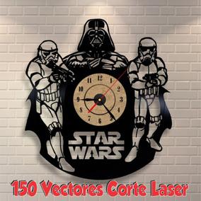 5bd56185809e9 Vectores Relojes De Pared Mdf Corte Laser Cnc Dxf Corel
