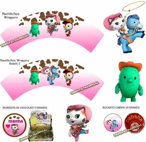 kits imprimibles sheriff callie candy