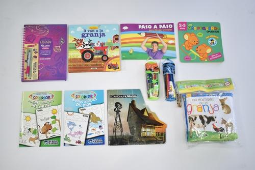 kits librería familiar mundo marino