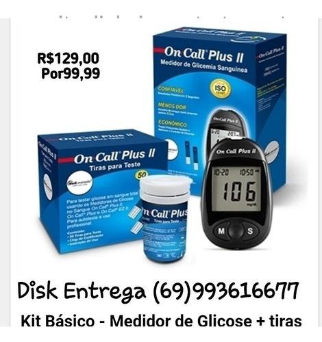 kits on call plus  c/100 lancetas /50 tiras!