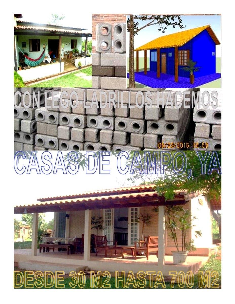Kits Para Construir,ampliar Ö Remodelar Su Casa De Campo - Bs. 2.500 ...