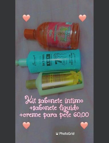 kits para o cabelo e para o corpo promoção