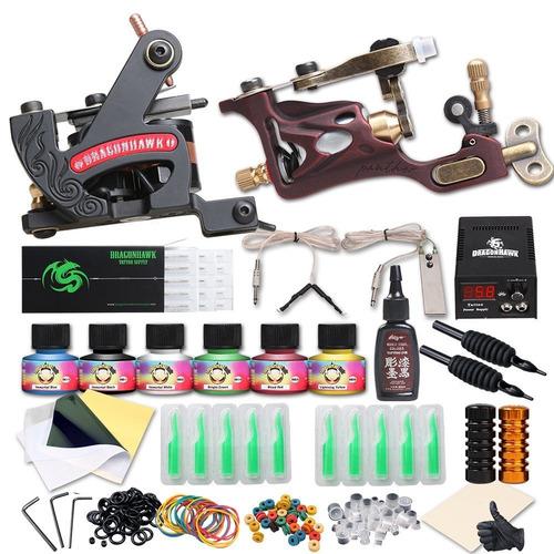 kits para tatuar varios modelos tattoo tatuaje dragonhawk