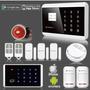 Kit Alarma Wireless Gsm Sms Con App Android / Ios