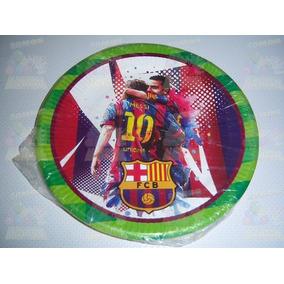 cd6debfca052d Invitaciones Platos Vasos Dulceros Fiesta Futbol Barcelona