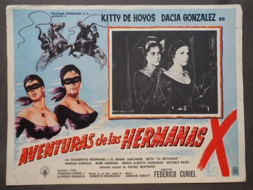 kitty de hoyos aventuras de las hermanas x cartel de cine