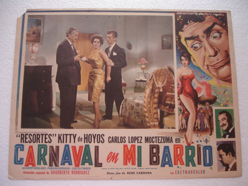 kitty de hoyos, carnaval en mi barrio , cartel (lobby card )