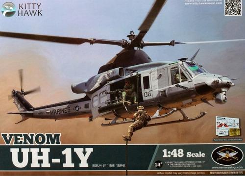 kitty hawk - u.s. marines uh-1y venom 1/48
