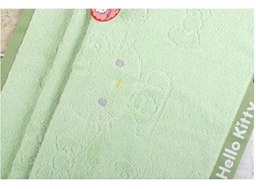 kitty lovely toalla de playa 28  x 52  cinta 100% de baño