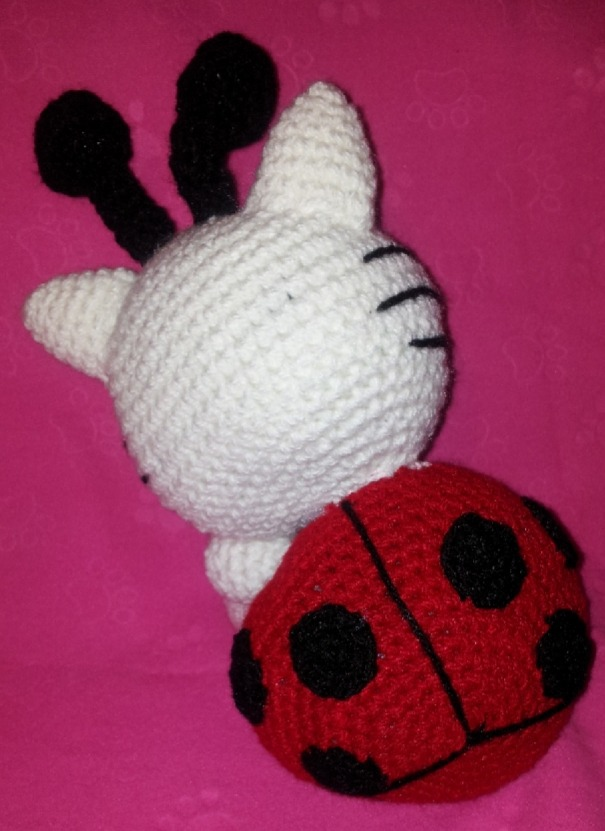 Tikki amigurumi, Ladybug amigurumi, Ladybug muñeca, Tikki muñeca ... | 831x605