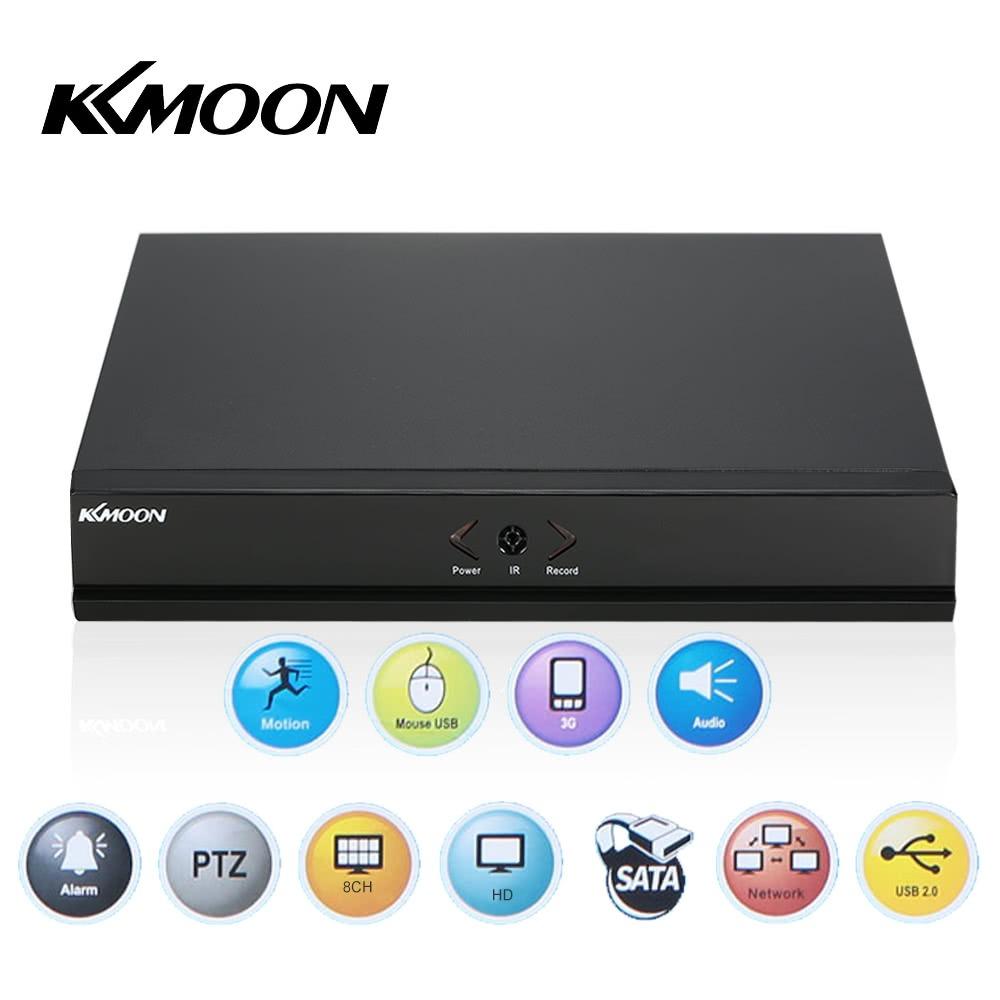 equipo de v/ídeo digital de 8 canales 960H D1/red CCTV DVR H.264/HDMI supervisi/ón de la seguridad de reproducci/ón de v/ídeo KKmoon
