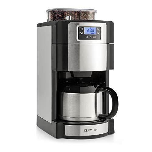 klarstein cafetera + molino cafe electrico aromatica 10 tz