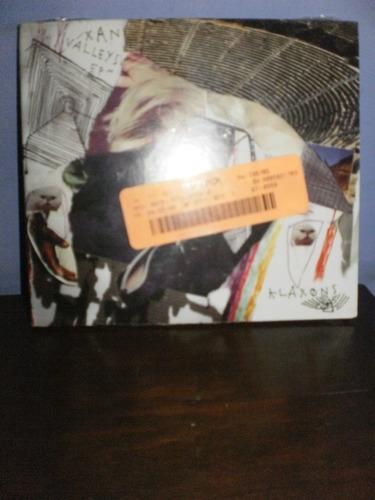 klaxons - xan valleys ep cd importado - u s a nuevo