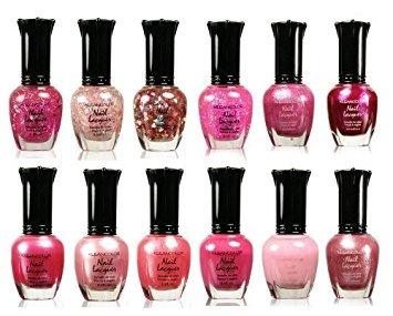 kleancolor colección - impresionantes colores rosados \u20