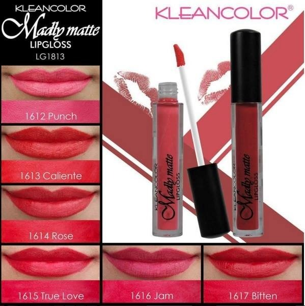 Kleancolor Madly Matte Gloss Tonos Rojos Envio Gratis -   165.00 en ... 86775bd33748