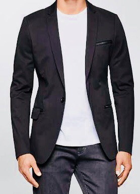 0d09d20062e54 Calvin Klein Blazer Original Terno Passeio - R  495
