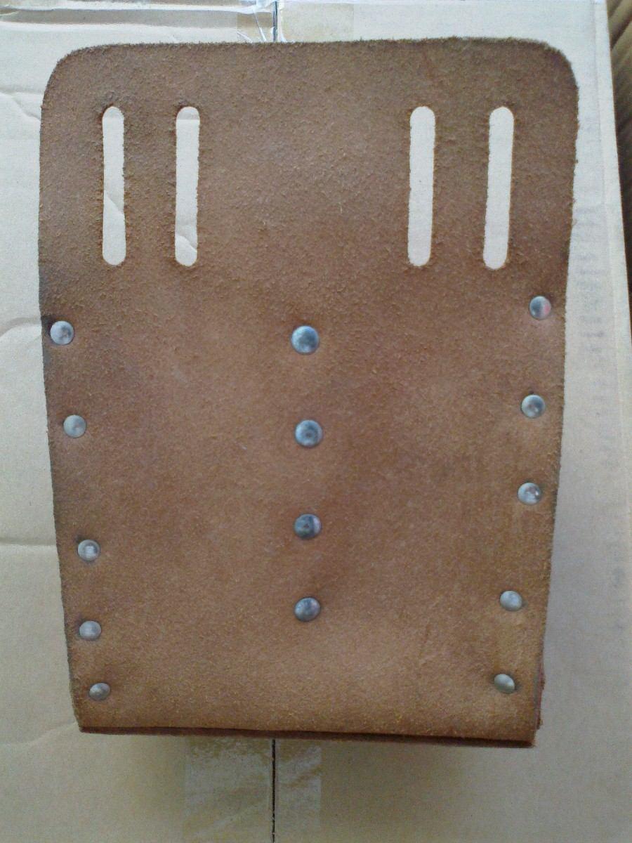 Bolsa Em Couro Para Ferramentas : Klein bolsa ferramentas eletricista couro garantia eterna