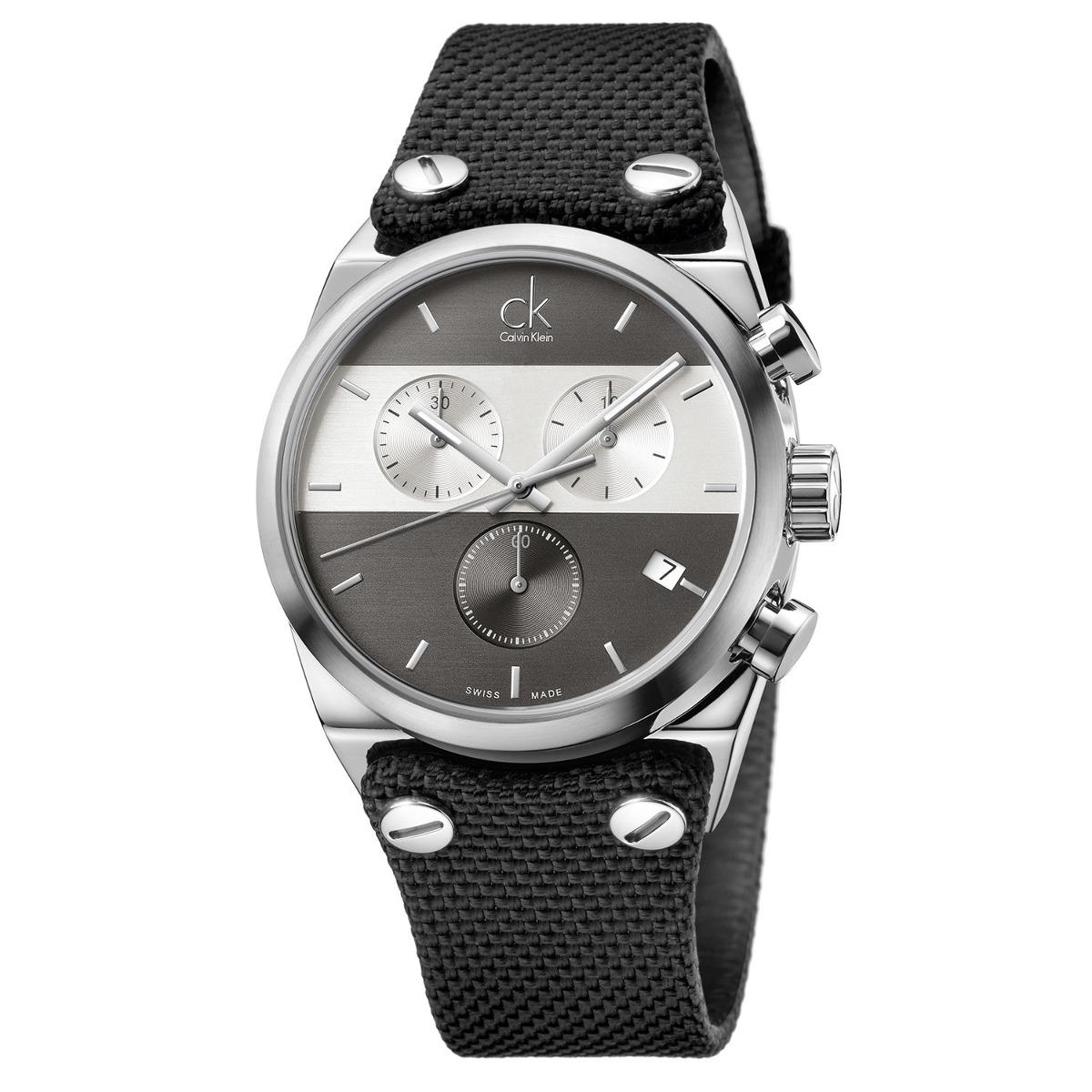 Klein Color Y Reloj Hombre Para Gris Calvin K4b381b3 iOXPkZu