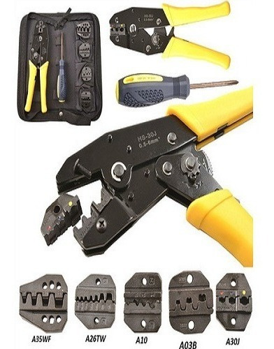 klein t1715 full-cycle ratcheting crimper-insulated termina