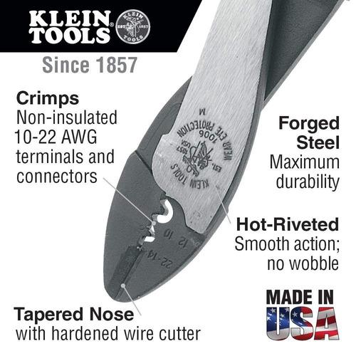 klein tools 1006 crimping / cutting tool para terminales no