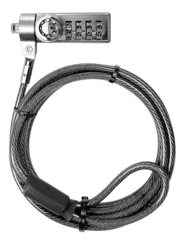 klip xtreme candado de segruridad con llave y clave ksd-345