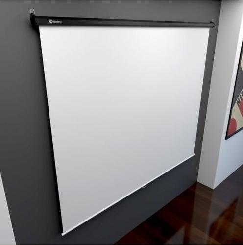 klip xtreme kps-302 pantalla proyección 86  218cm 4:3 bco ma