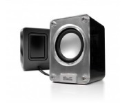 klip xtreme - speakers - 2.0-channel - black & white - pass