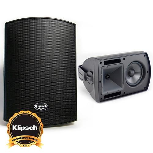 klipsch aw-650 caixa acústica outdoor revenda oficial (par)