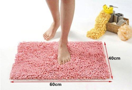 kloud city rosa microfiber antideslizante dormitorio cocina