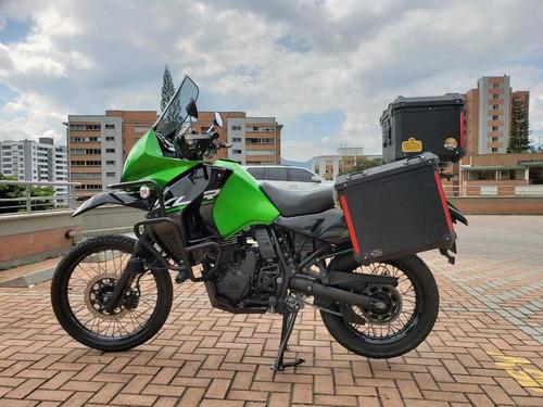 klr 650 verde negro