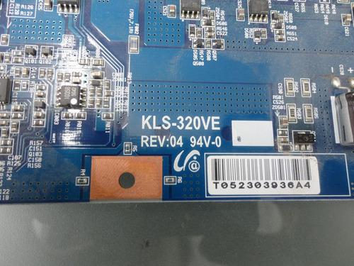 kls-320ve rev:04 94v-0 tarjeta inverter 32 pulg