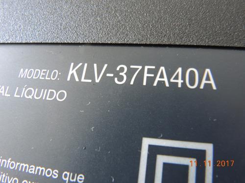 klv-37fa40a gabinete tv sony