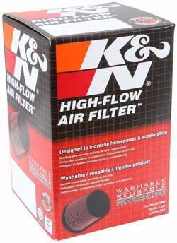k&n filtro aire alto flujo universal entrada 2.5 rd-0720