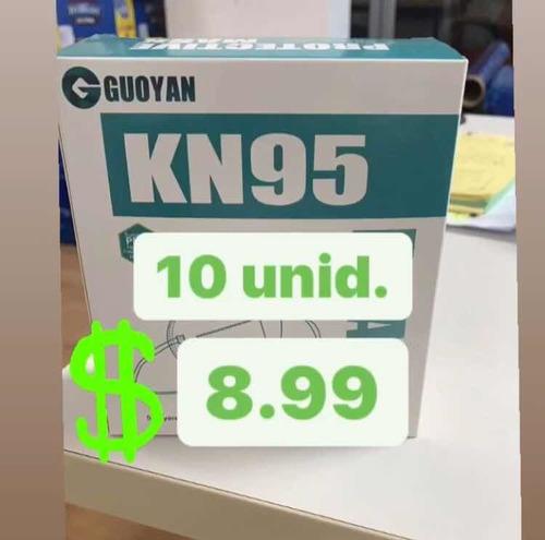 kn95 x 10 unidades