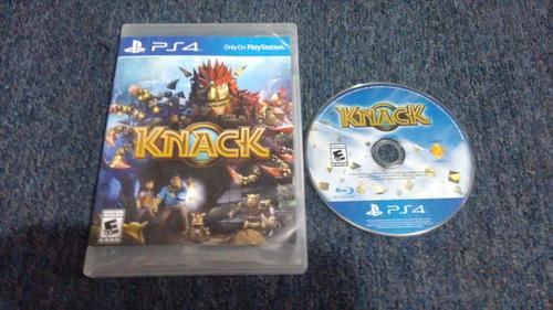 knack para play station 4,excelente titulo,checalo