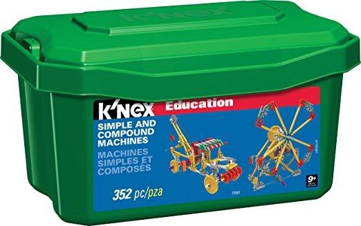 K\'nex Educación - Máquinas Simples Y Compuestas Set - 352 Pi ...