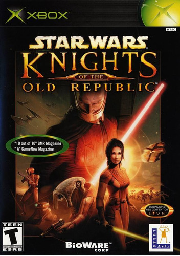 knights of the old republic - xbox