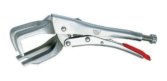 KNIPEX 42 14 280 Mordaza grip para soldadura cincado brillante 280 mm