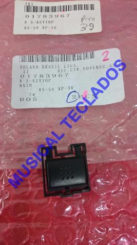knob botão original teclado roland rs50, xp30  frete grátis