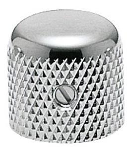 knob de metal | gotoh | vk19 | cromado | guitarra ou baixo