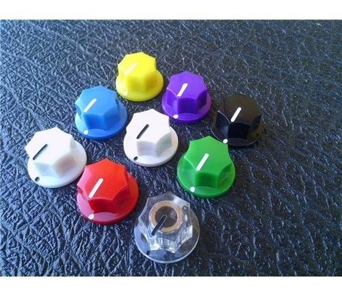 knob perilla pot tipo mxr para pedales diy - g32x