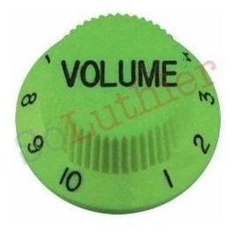 knob volume | stratocaster | verde