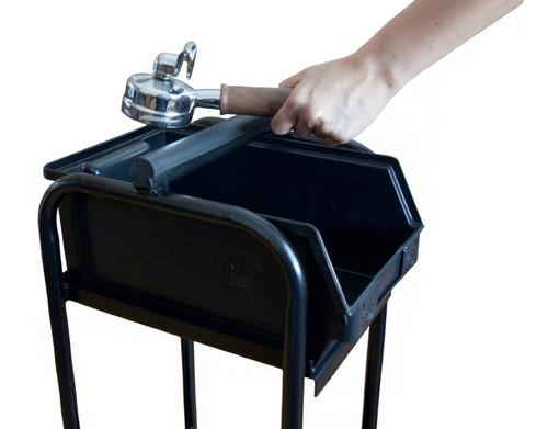 knock box tacho tira borra cafeteria barista limpieza cafe
